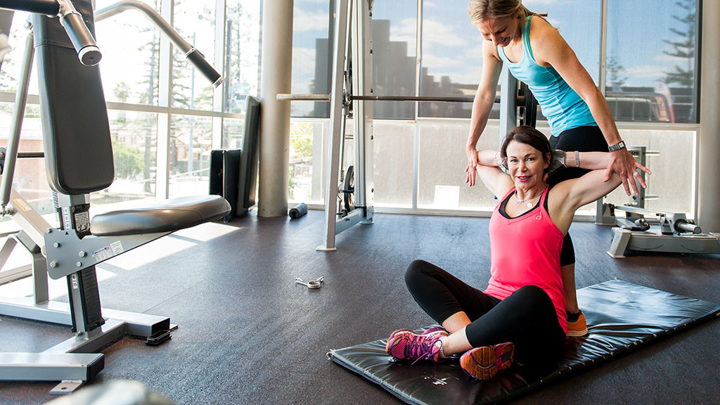 Nadia is dedicated to fitness after suffering a minor stroke