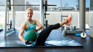 Ab Exercise - Medicine Ball Twist