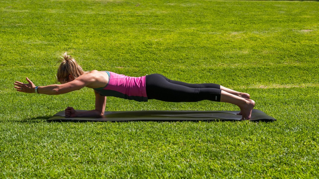 The one arm plank - great ab exercise
