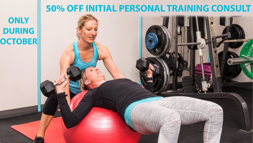 50% Off Initial Personal Training Consult