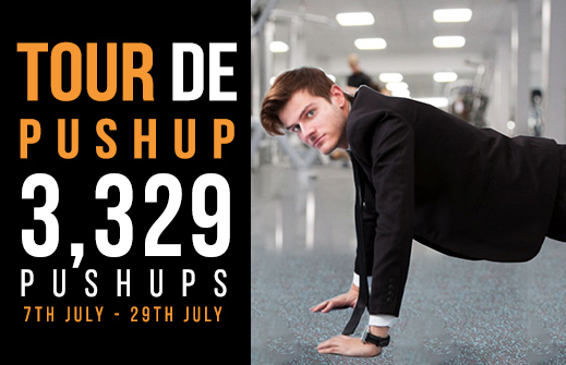 Fitness Faster push up challenge