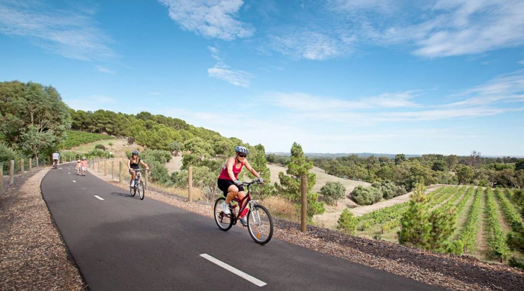 Barossa cycling track