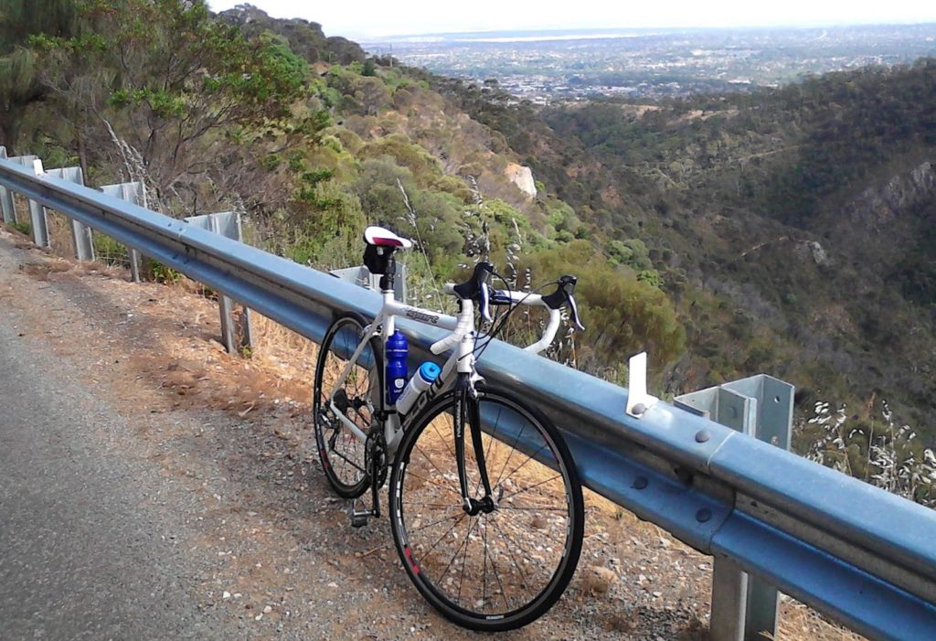 Norton Summit Cycling Route Adelaide