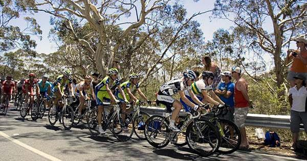 Tour Down Under, Willunga Hill Cycling route