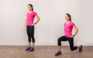 Butt blasting exercises - lunges